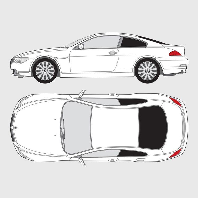 BMW 6 Serie Coupe E63 2004-2011