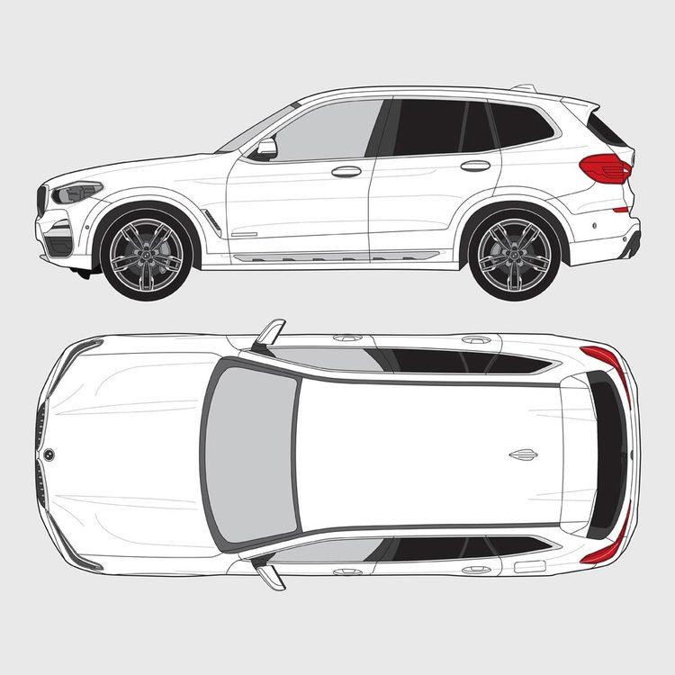 BMW X3 G01 2018-
