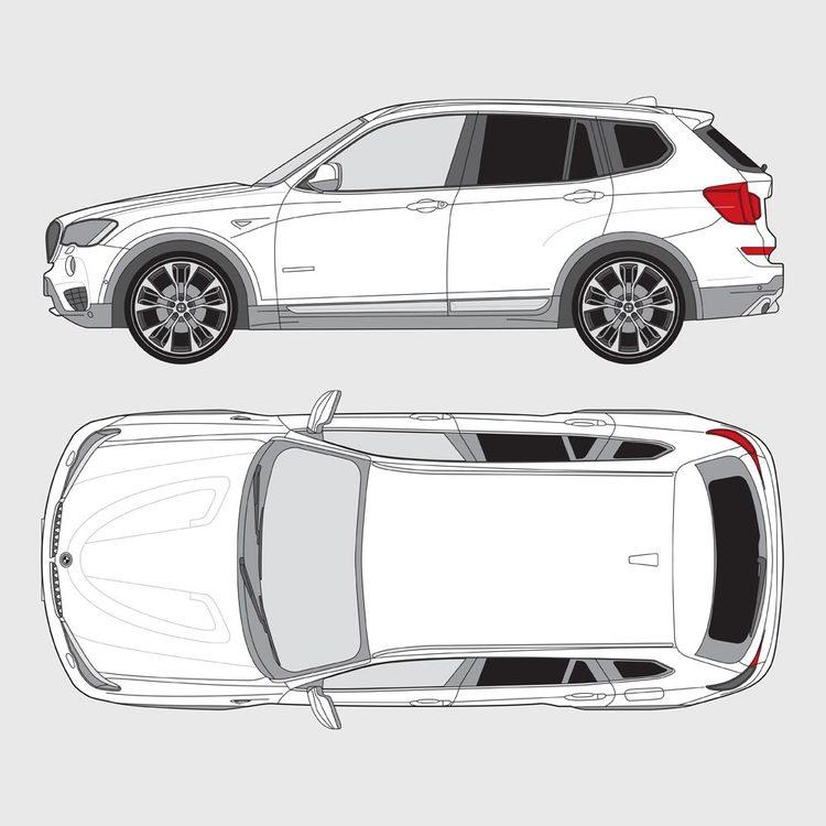 BMW X3 F25 2010-2016