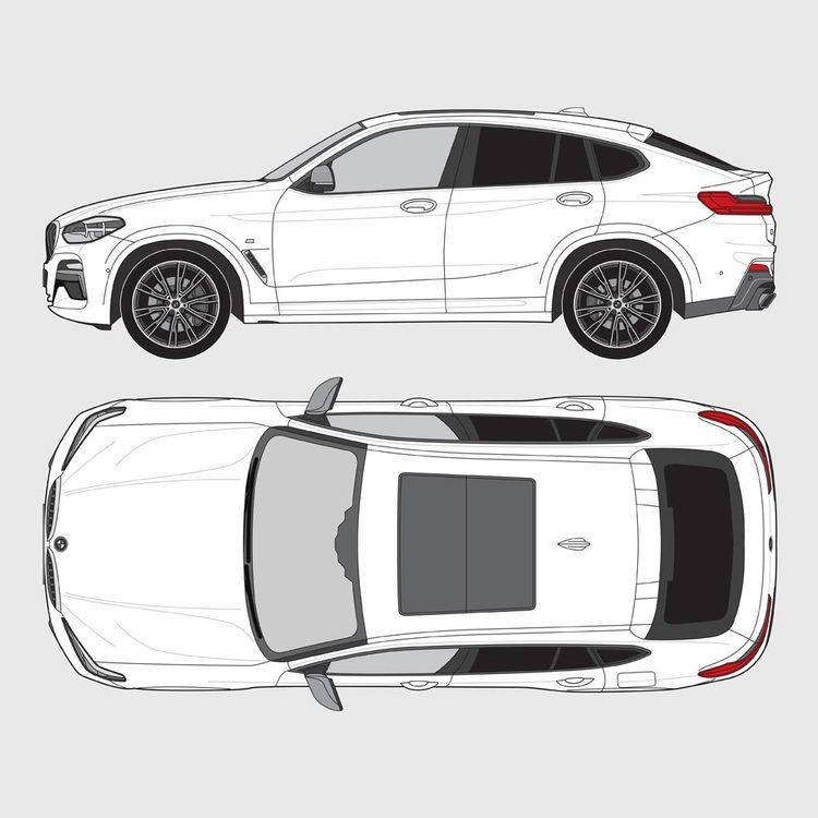 BMW X4 G02 2018-