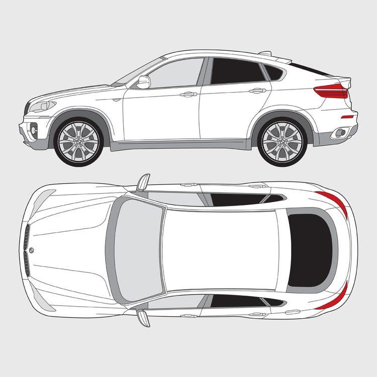 BMW X6 E71 2009-2014
