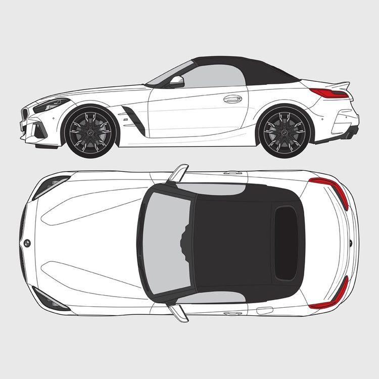 BMW Z4 Roadster G29 2019-