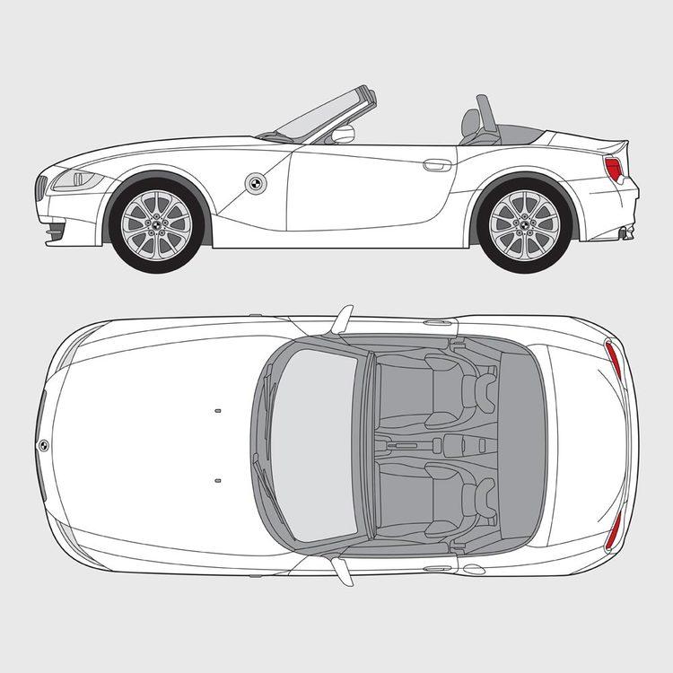 BMW Z4 Roadster E85 2002-2008