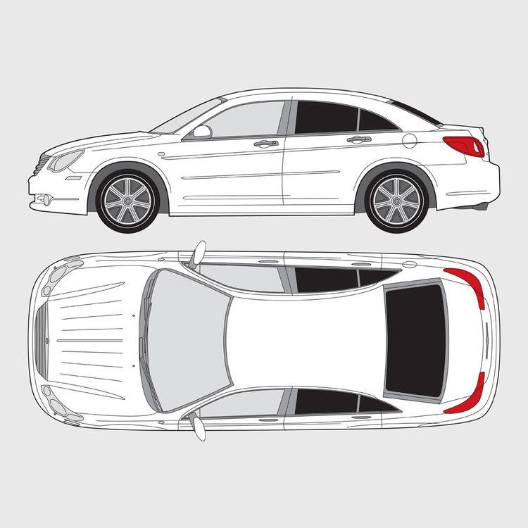 Chrysler Sebring 4-dörrar 2007-2010