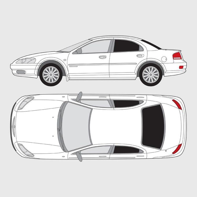 Chrysler Sebring 4-dörrar 2001-2006