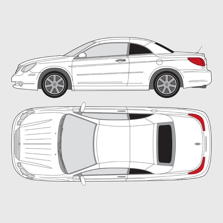 Chrysler Sebring Cab 2007-2010