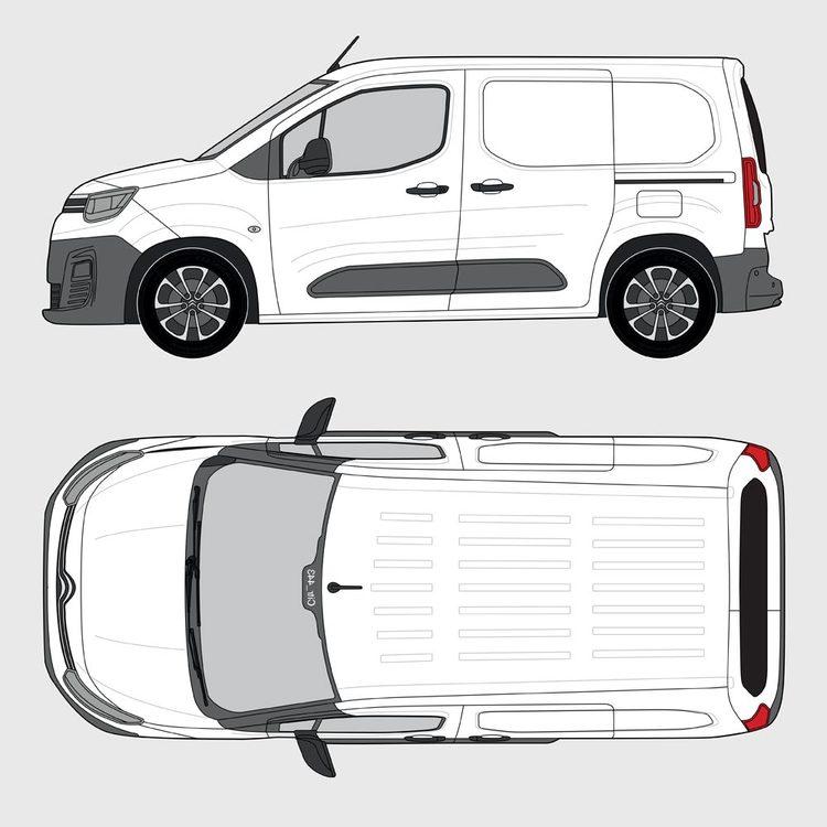 Citroën Berlingo Skåp 2018-