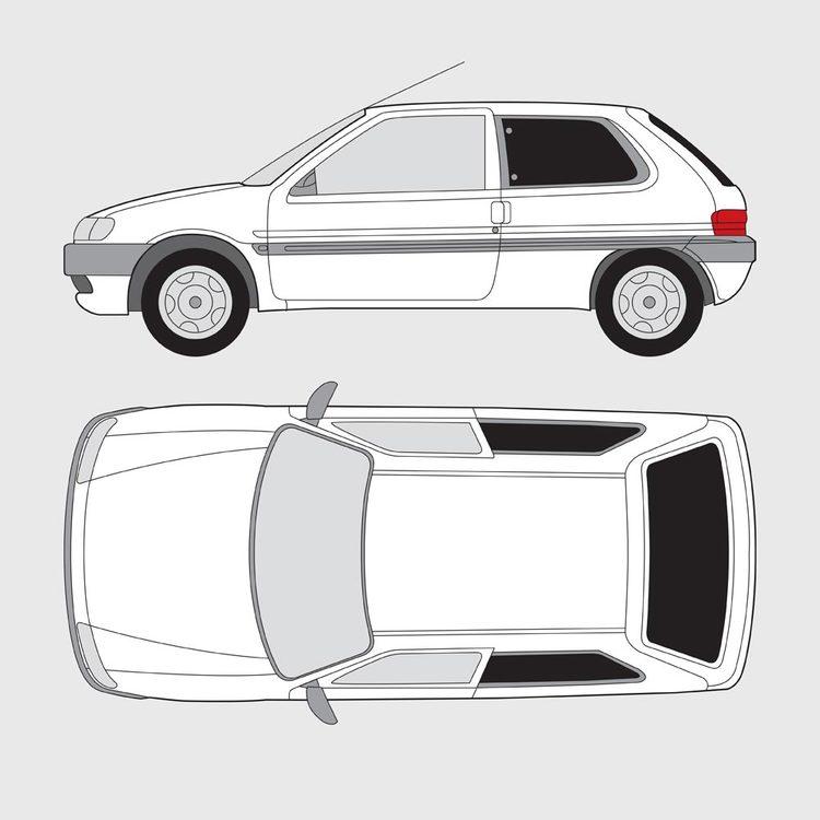 Citroën Saxo 3-dörrar 1996-2003