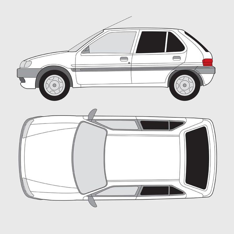 Citroën Saxo 5-dörrar 1996-2004