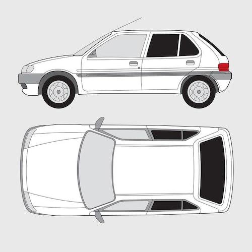 Citroën Saxo 5-dörrar