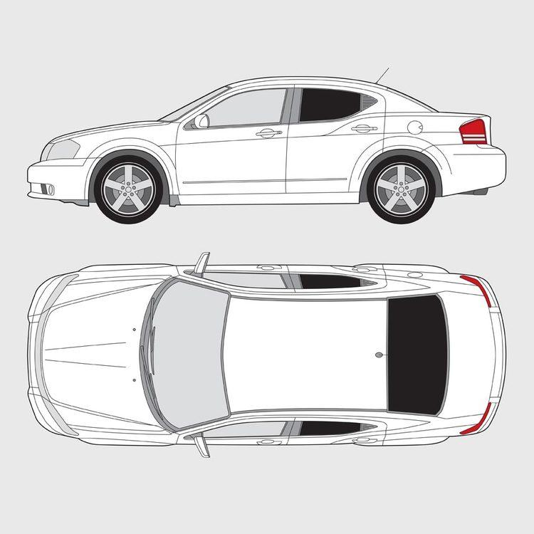 Dodge Avenger 2007-2012