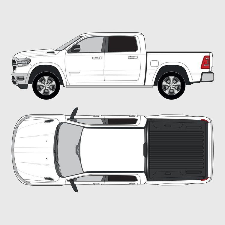 Dodge Ram Crew Cab 2018-