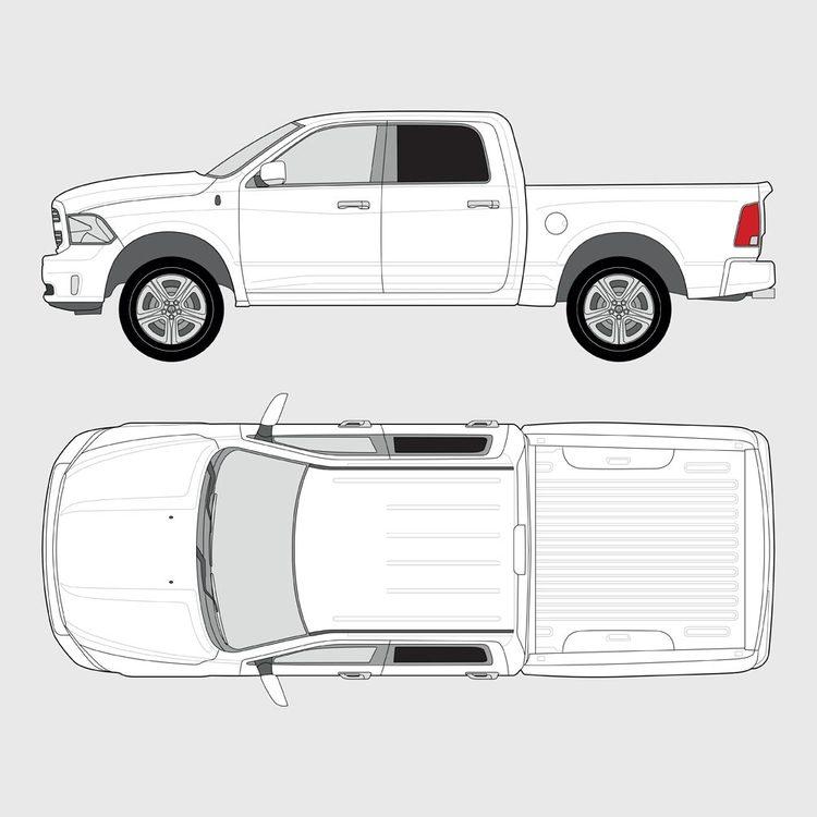 Dodge Ram Crew Cab 2010-2018
