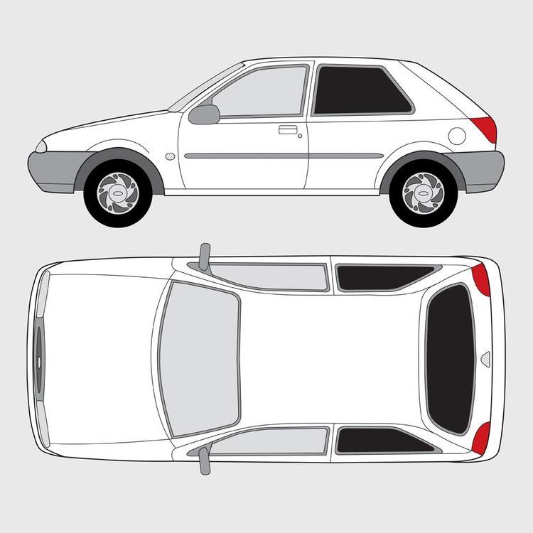 Ford Fiesta 3-dörrar 1995-2001