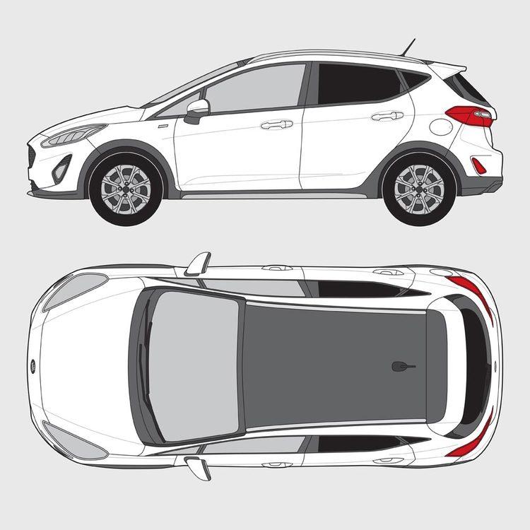 Ford Fiesta 5-dörrar 2017-