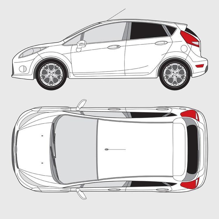 Ford Fiesta 5-dörrar 2008-2017