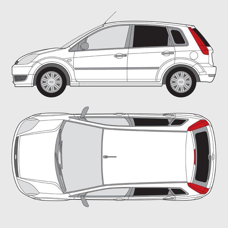 Ford Fiesta 5-dörrar 2001-2008