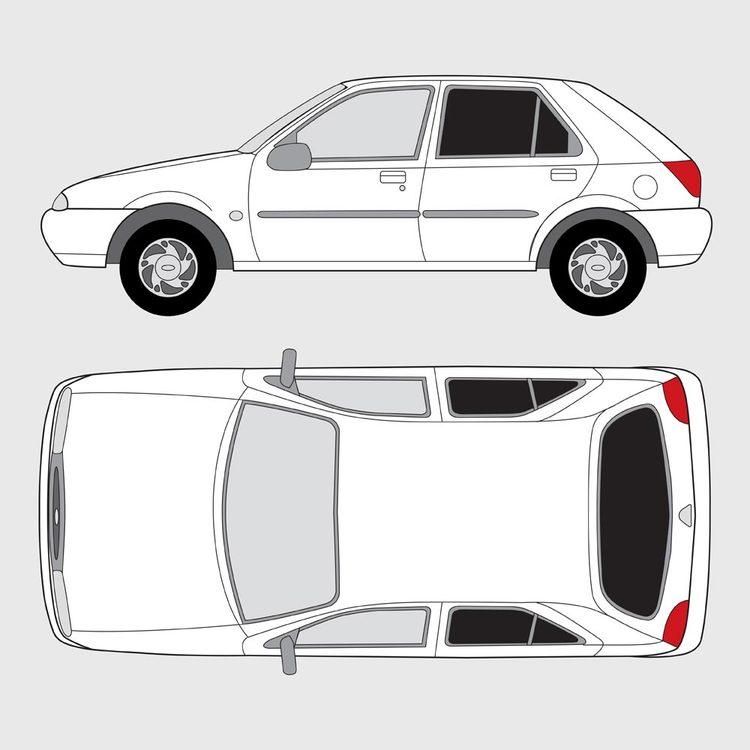 Ford Fiesta 5-dörrar 1995-2001
