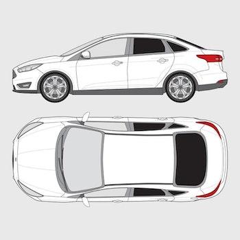 Ford Focus 4-dörrar