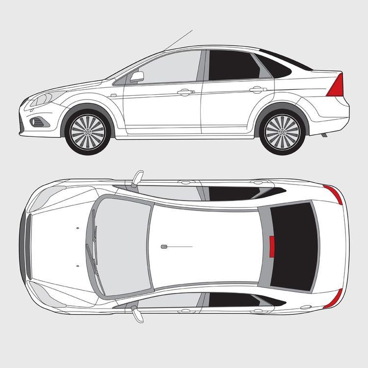 Ford Focus 4-dörrar 2004-2010