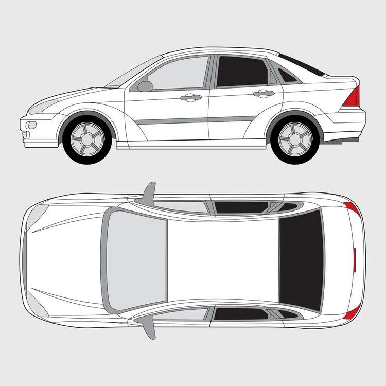 Ford Focus 4-dörrar 1998-2004