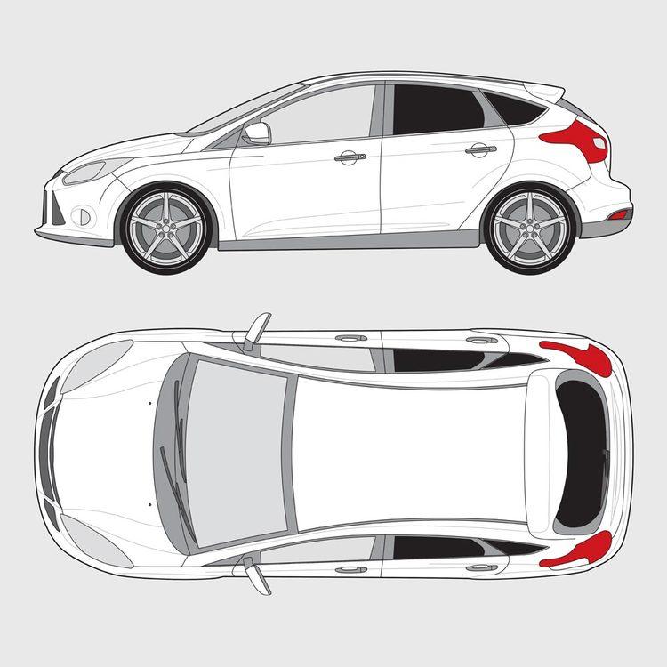 Ford Focus 5-dörrar 2015-2019