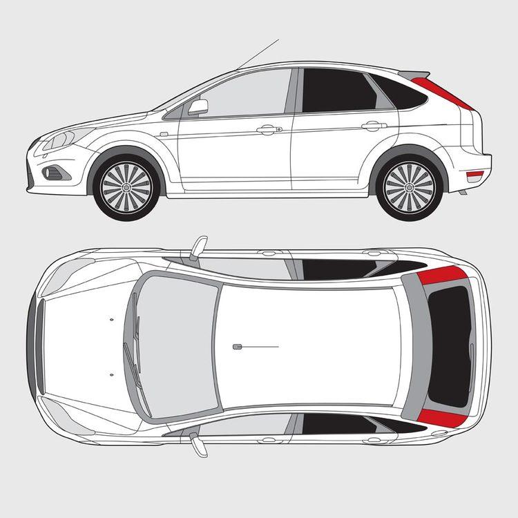 Ford Focus 5-dörrar 2010-2015