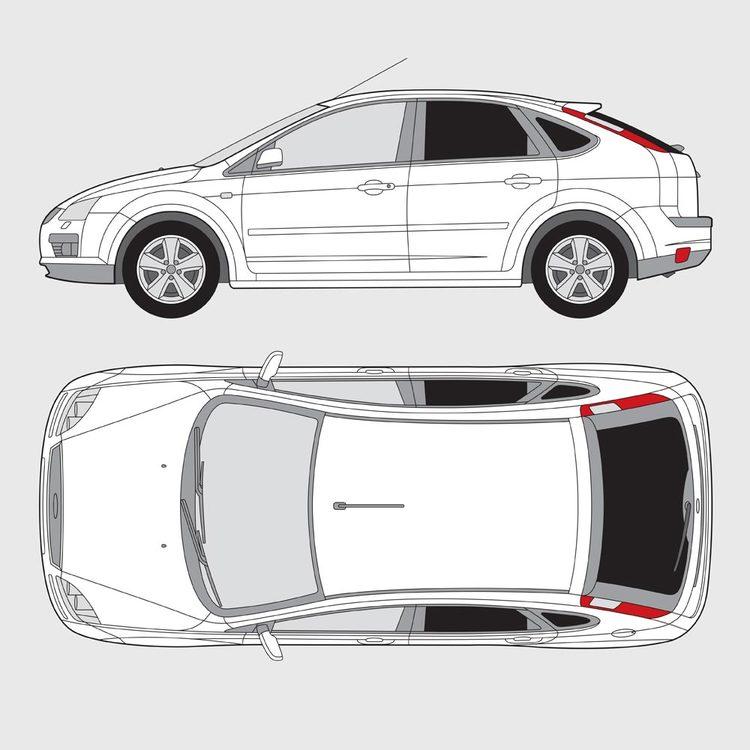 Ford Focus 5-dörrar 2004-2010
