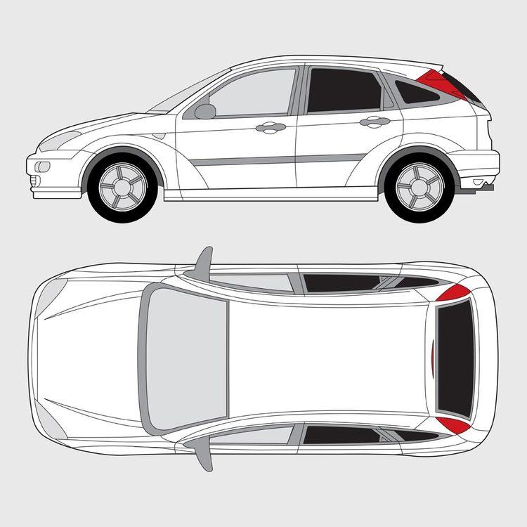 Ford Focus 5-dörrar 1998-2004