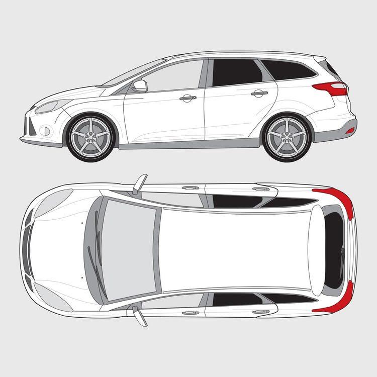 Ford Focus kombi 2011-2017