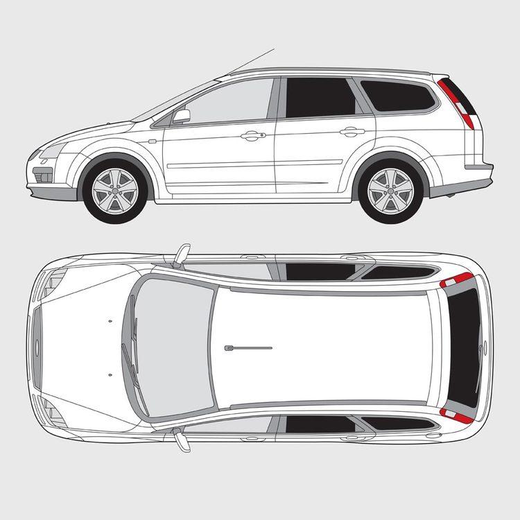 Ford Focus kombi 2005-2011