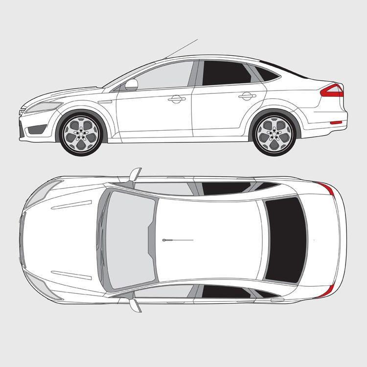Ford Mondeo 4-dörrar 2007-2015