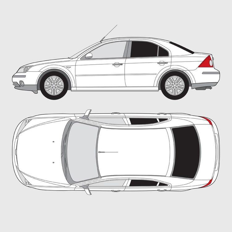 Ford Mondeo 4-dörrar 2000-2007