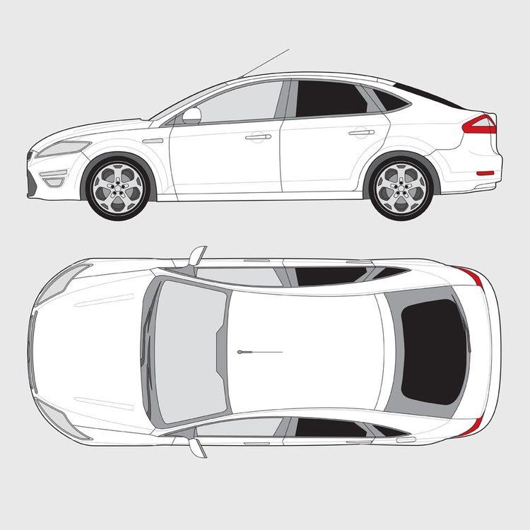 Ford Mondeo 5-dörrar 2007-2015