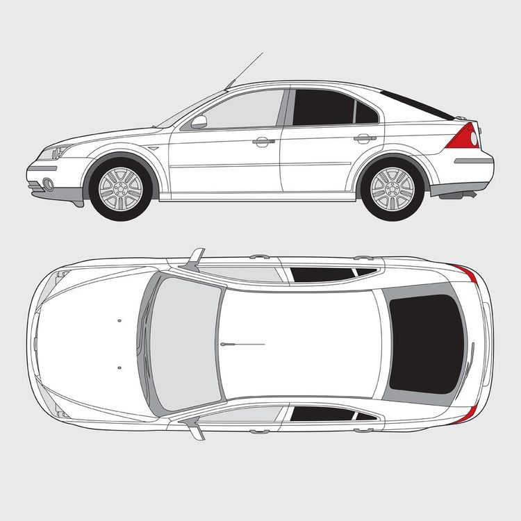 Ford Mondeo 5-dörrar 2000-2007