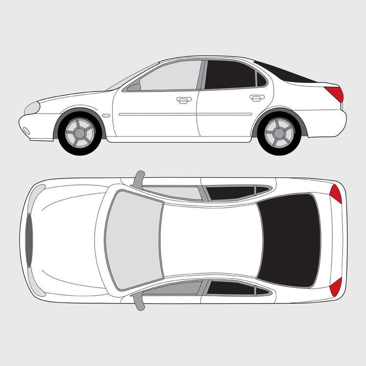 Ford Mondeo 5-dörrar 1993-2000