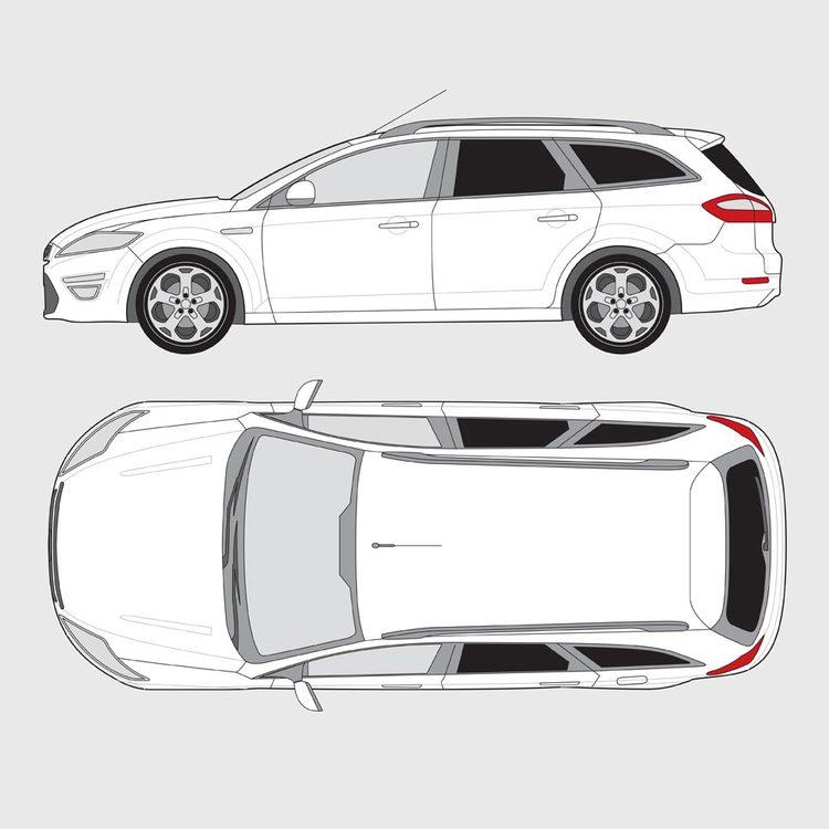 Ford Mondeo kombi 2007-2015