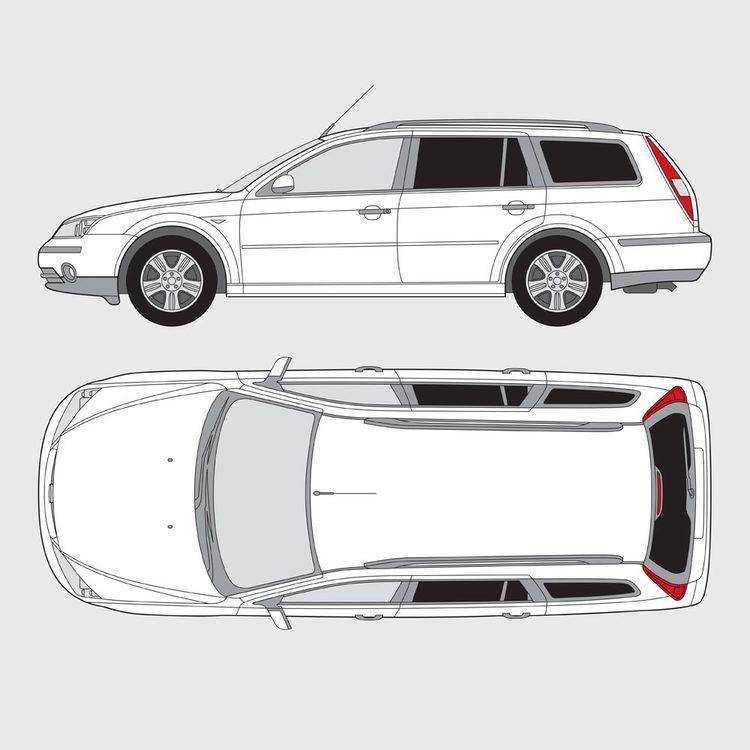 Ford Mondeo kombi 2000-2007