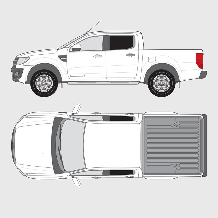 Ford Ranger Double Cab 2012-