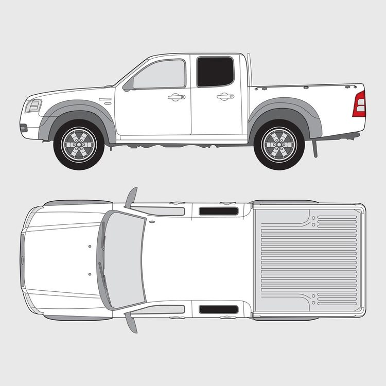 Ford Ranger Double Cab 2007-2012