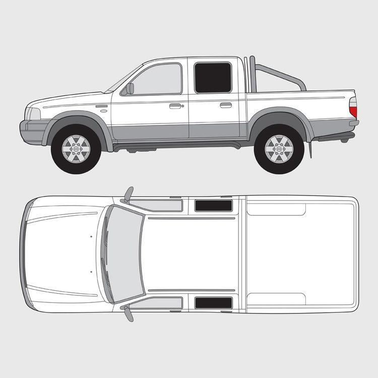 Ford Ranger Double Cab 2001-2006