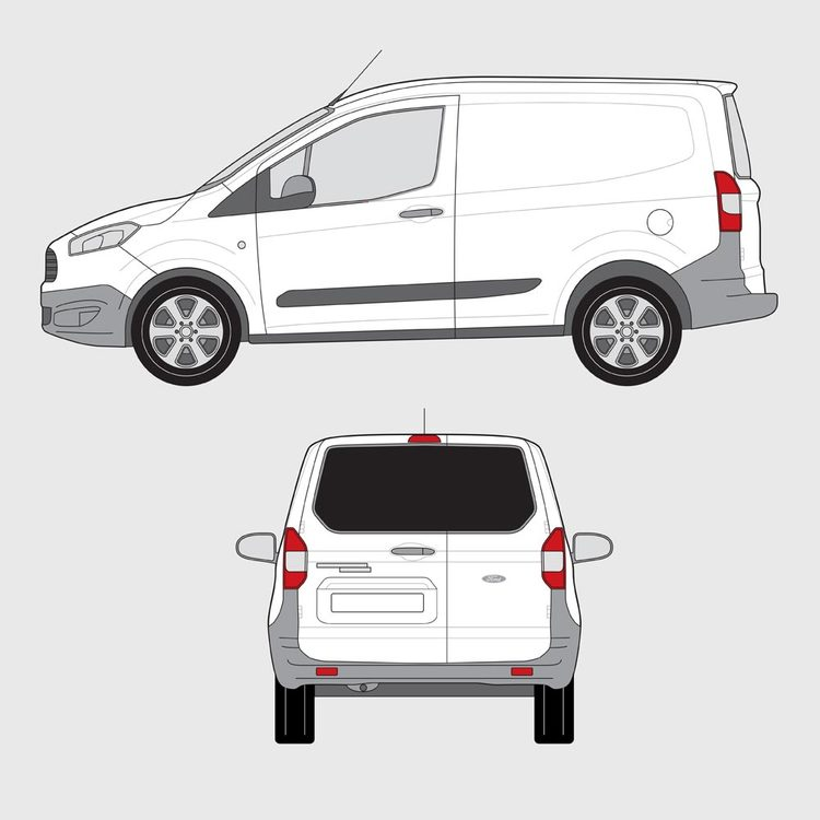 Ford Transit Courirer 2013-