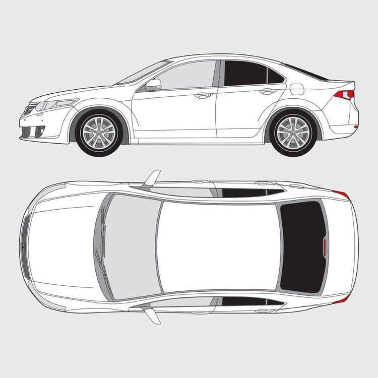 Honda Accord 4-dörrar 2008-2018