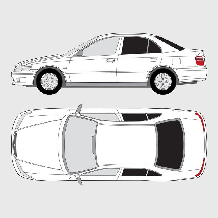 Honda Accord 4-dörrar 1998-2003