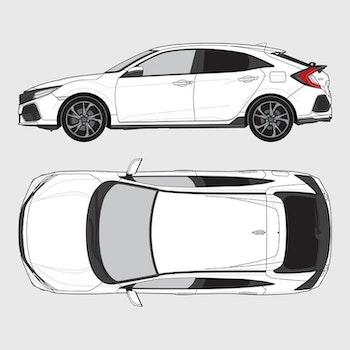 Honda Civic 5-dörrar