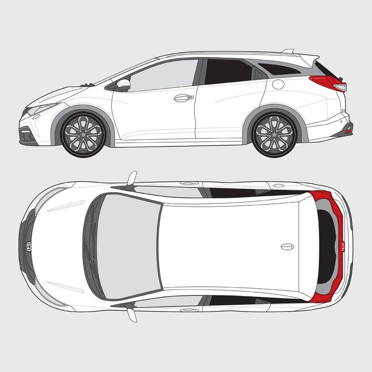 Honda Civic kombi 2013-