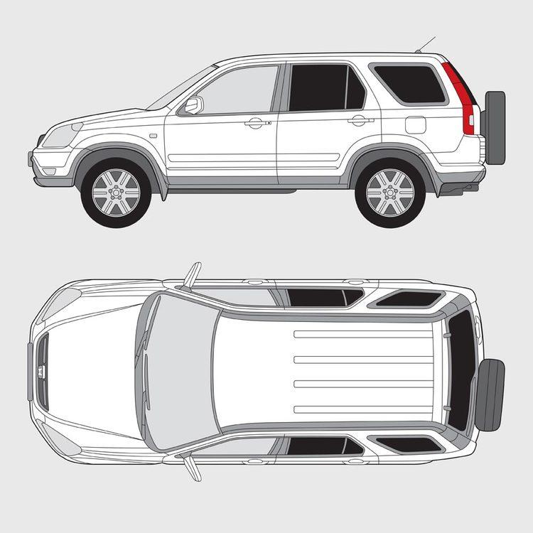 Honda CRV 2001-2006