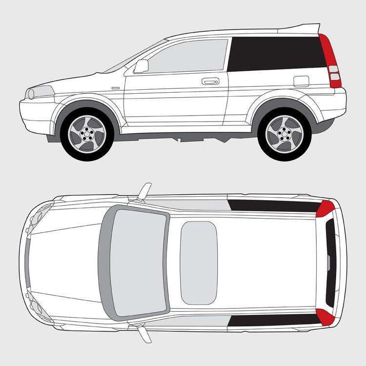 Honda HRV 3-dörrar 1999-2006
