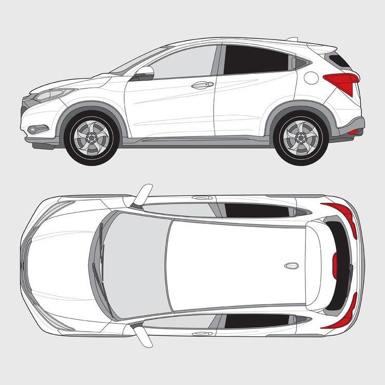 Honda HRV 5-dörrar 2015-