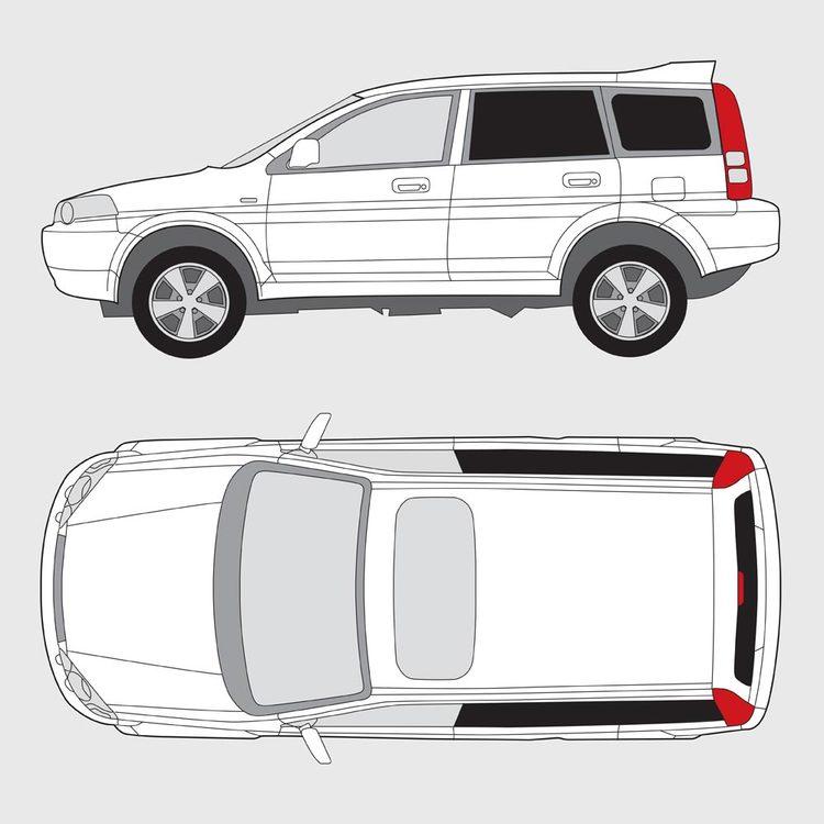 Honda HRV 5-dörrar 1999-2006